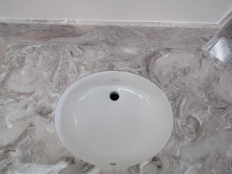 cultured granite sink