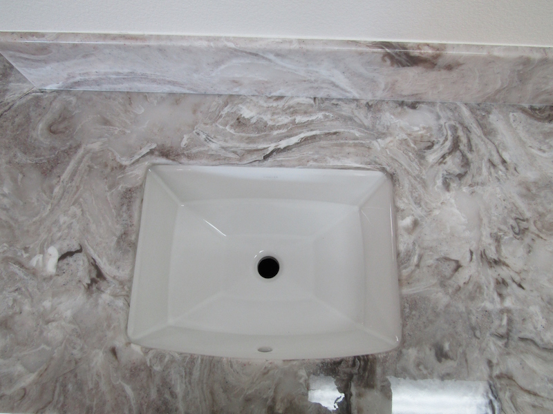 cultured mrble sink