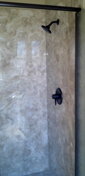 cultured granite elite shower