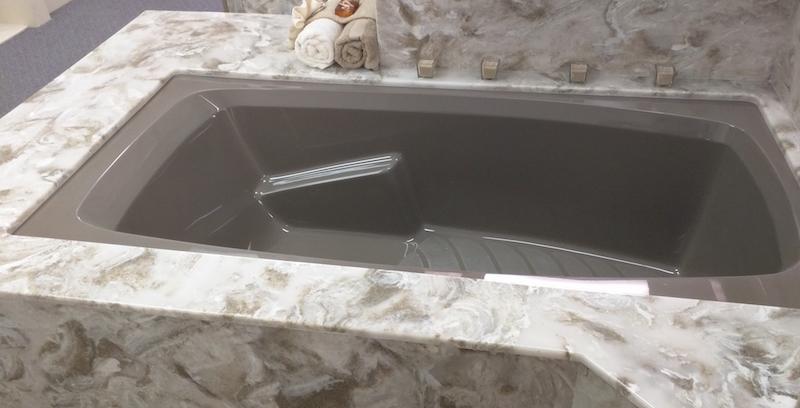 cultured stone tub