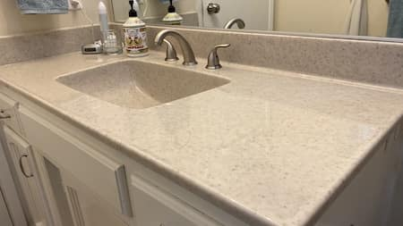 Cultured Granite Vanity