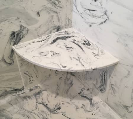 Bathroom accessories using cultured marble, cultured granite, or cultured onyx