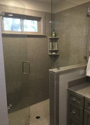 Bathroom using cultured marble, cultured granite, or cultured onyx