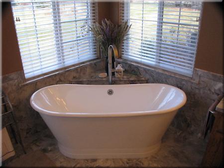 cultured marble back splash