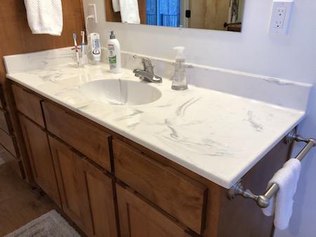 Cultured Marble Vanity
