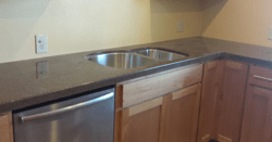 countertop kitchen - cultured marble -white city, oregon