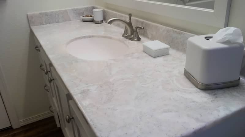 countertop bathroom - cultured marble - Grants Paas, Oregon