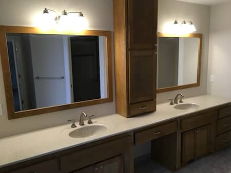 Completed Vanity Project