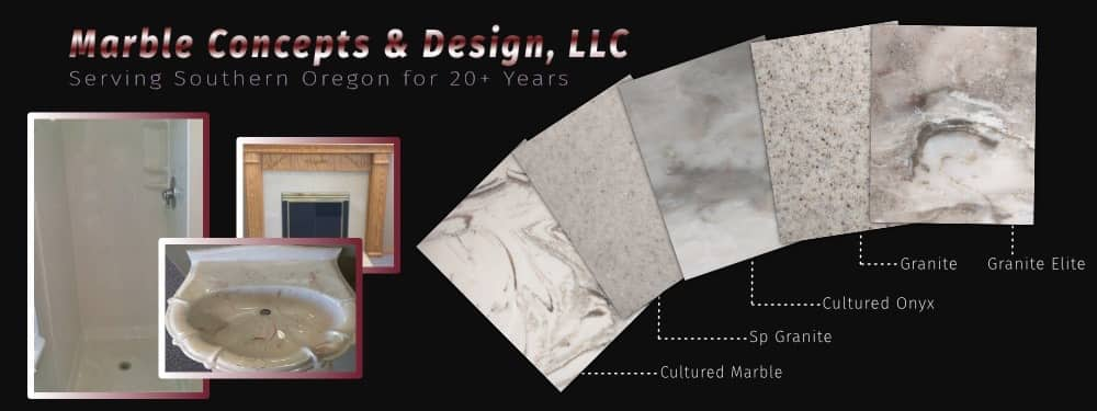 Home Improvement Products Using Cultured Granite Products In Medford Oregon