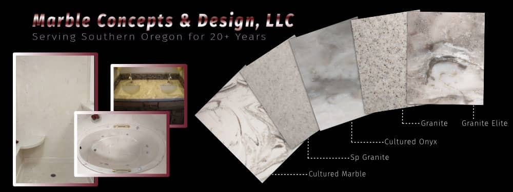 Countertops Using Cultured Marble In Medford Oregon